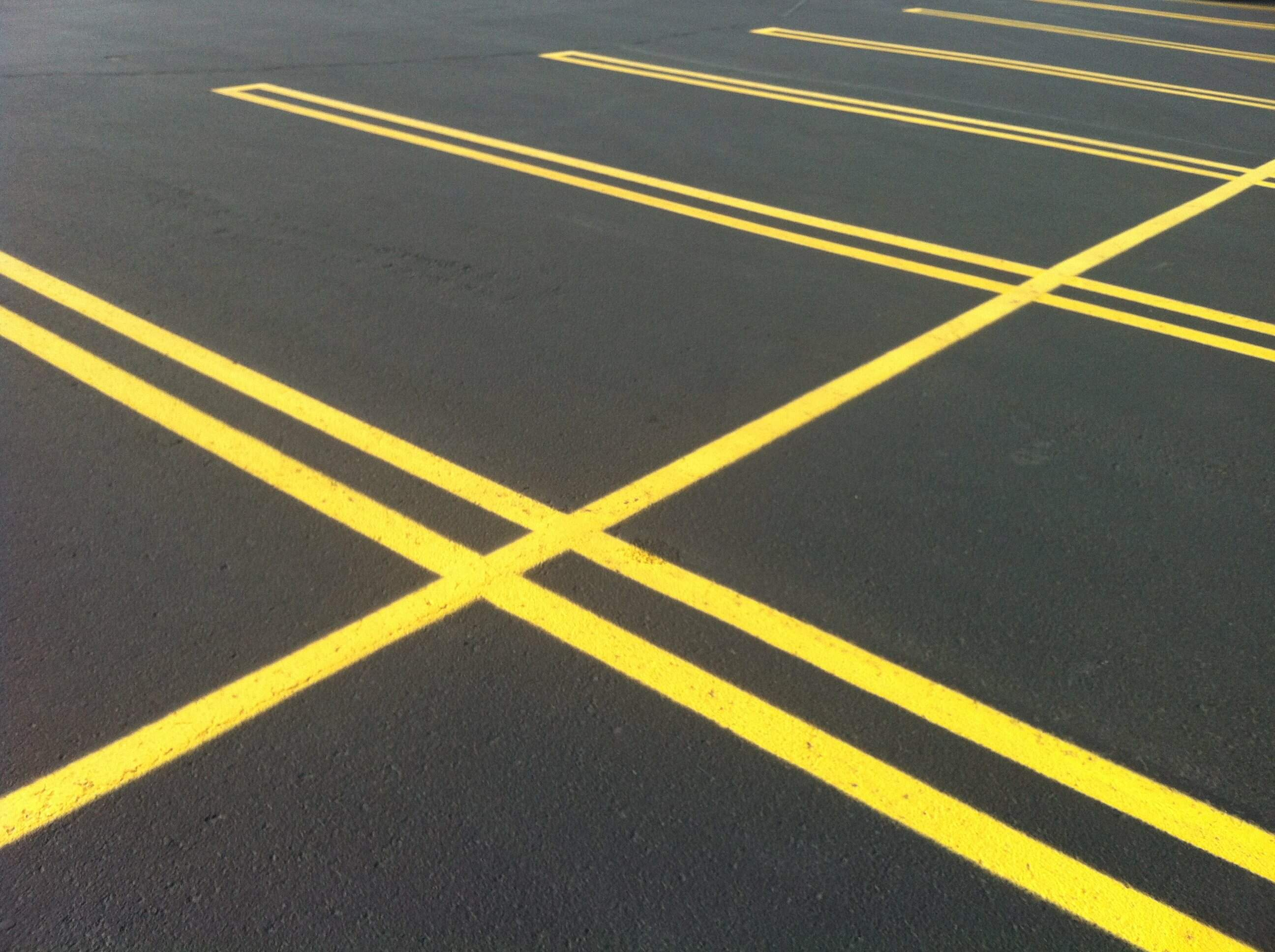 How To Get Yellow Road Line Paint Off Car